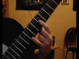 Мурка двумя пальцами на гитаре